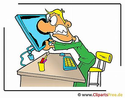 Office Funny Clipart Manager Gamer Kostenlos Cliparts