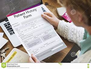 Patient Information Form Analysis Record Medical Concept ...
