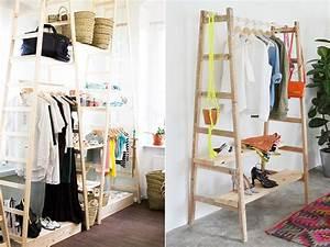 Kleiderstange Für Schrank : diy mein schlafzimmer ohne kleiderschrank glowbus ~ Whattoseeinmadrid.com Haus und Dekorationen