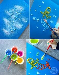 Funny DIY Salt Art For Your Kids | Kidsomania