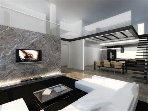 modern white scandinavian style interior design ideas
