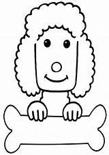 Poodle Coloring Poodle2 sketch template