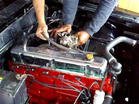 motor 6 cilindros opala 1976 youtube