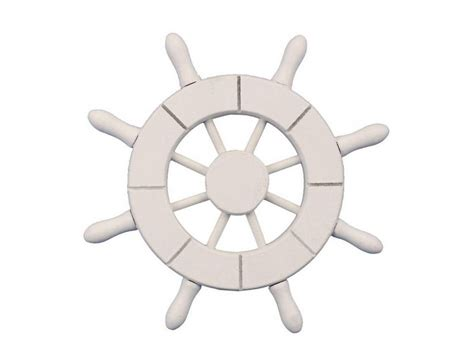 Boat Steering Wheel Home Decor by Wholesale White Decorative Ship Wheel 6 Quot Wholesale New