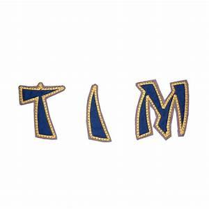 Buchstaben Zum Aufkleben : ninja buchstaben zum aufn hen blau lieblingsst cke ~ Watch28wear.com Haus und Dekorationen