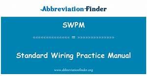 Swpm Definici U00f3n  Manual De Pr U00e1cticas De Cableado Est U00e1ndar