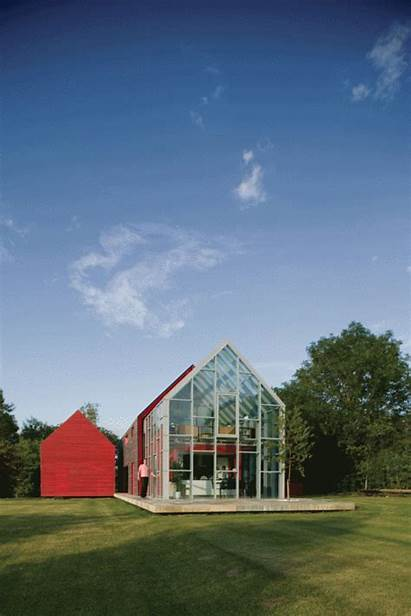 Sliding Architecture Gifs Drmm Countryside Glass Buildings