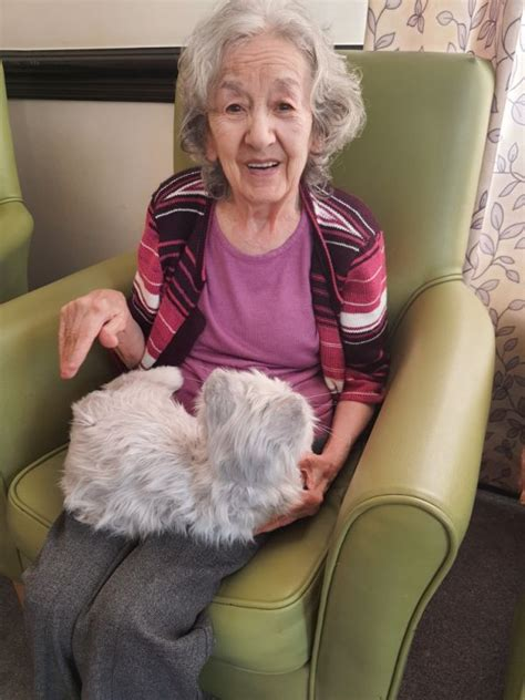 Salford care home residents enjoy company of some new pets ...