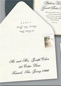 first impressions count a well addressed wedding With wedding invitation reply envelopes