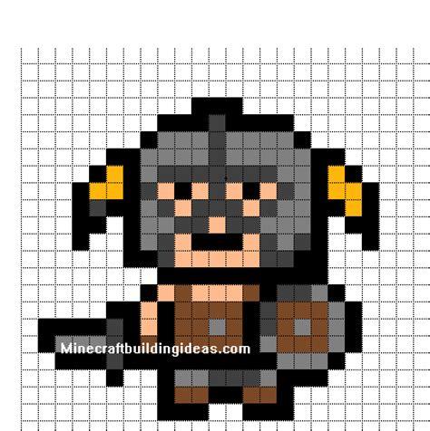 minecraft pixel templates minecraft pixel templates skyrim born