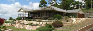 hillside home designs sloping block designs