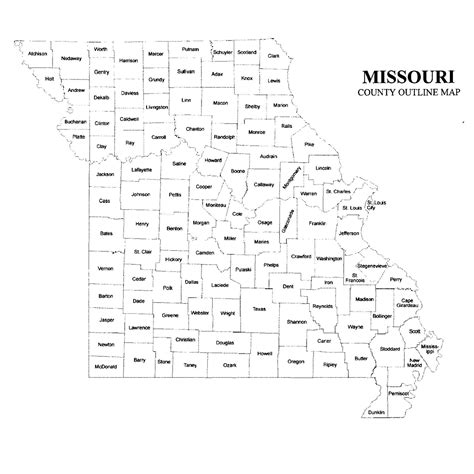 missouri county map jigsaw genealogy