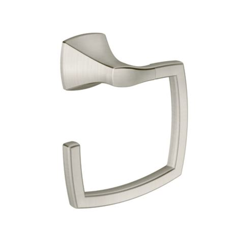 moen csiyb5186bn brushed nickel towel ring from the voss