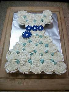 212 best foodcupcakespull apart cakes images on With cupcake wedding dress