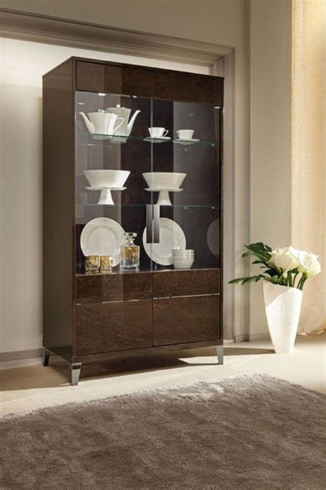 soprano italian modern china cabinet furniture modern