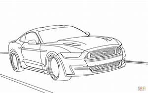 Ford mustang 2015 coloring page free printable coloring for 2017 ford mustang gt500