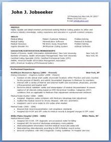 Exle Of Billing And Coding by Sle Billing And Coding Resume Template