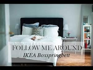 Nachttisch Boxspringbett Ikea : fma ikea boxspringbett youtube ~ Orissabook.com Haus und Dekorationen