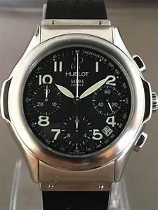 Montre Hublot Geneve : montre bracelet homme chronographe hublot mdm gen ve 21e si cle catawiki ~ Nature-et-papiers.com Idées de Décoration