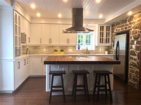 exemple cuisine ouverte s駛our dans les règles de l cuisine newzone refacing d 39 armoire de cuisine cuisine kitchens and room