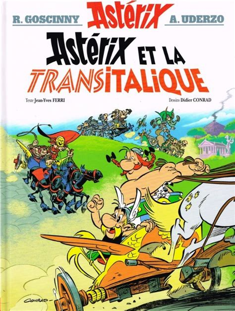 asterix  asterix  la transitalique issue