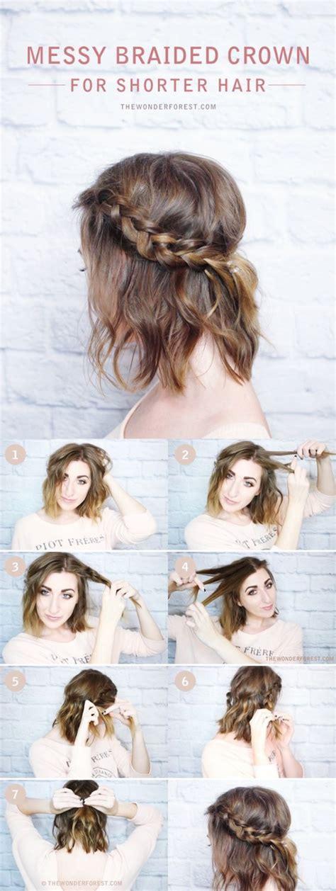 easy hairstyles  haircuts  women  short hair   style short haircuts