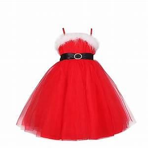 waiwaizui costume noel robe tulle princesse rouge tutu With robe fille 3 ans noel