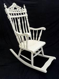 Schaukelstuhl Weiß Holz : stuhl schaukelstuhl im antiken stil creme wei 4813 sitzm bel st hle ~ Frokenaadalensverden.com Haus und Dekorationen