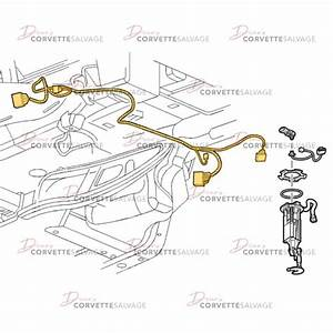 C6 Used Fuel Pump Wiring Harness 2005