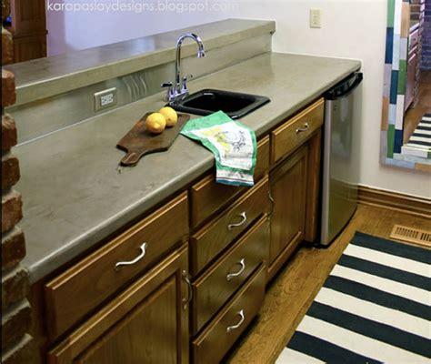 faux concrete countertops ardex concrete countertop over corian ask home design