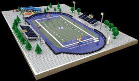 lego stadiums lego model builder brick model design