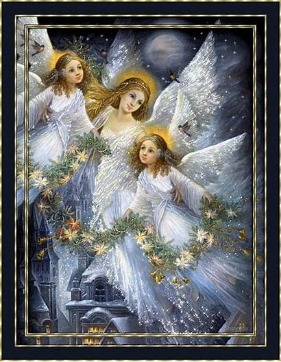 Angels Together Fanpop Christmas Gifs Heavenly Ange
