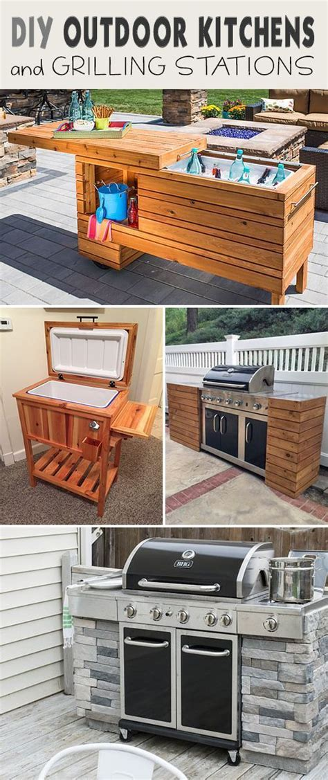 how to build a outdoor kitchen island 25 best ideas about outdoor kitchen plans on
