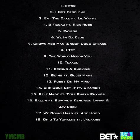 no ceilings mixtape tracklist bow wow greenlight 5 mixtape tracklist