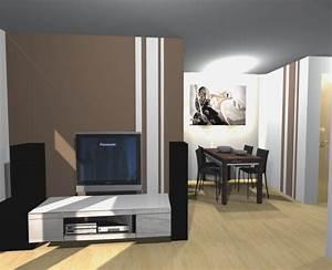 Wände Farblich Gestalten : schlafzimmer farbig gestalten ~ Lizthompson.info Haus und Dekorationen