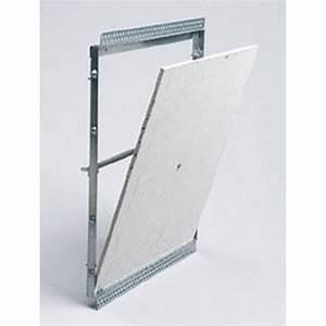 Trappe De Plafond : trappe de visite carreler sanitrap 30 x 40 cm leroy ~ Premium-room.com Idées de Décoration