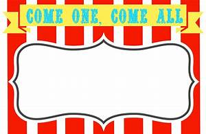 Carnival signs template clipart best for Free printable signs templates