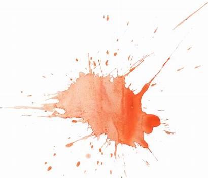 Watercolor Orange Splatter Transparent Onlygfx Px 2143