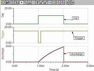 Basic 555 Monostable Circuit   Timer Electronic