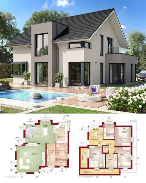 Häuser Modern Mit Satteldach by Fertighaus Concept M 159 Bien Zenker Modernes Haus Mit