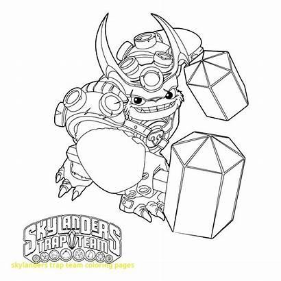 Skylanders Coloring Pages Trap Team Wallop Xbox