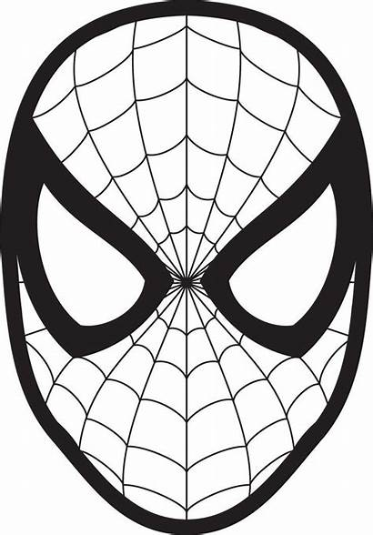 Spiderman Face Mask Clipart Spider Stuff Fun