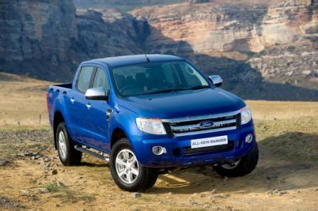 ford ranger  model year small commercial vehicle