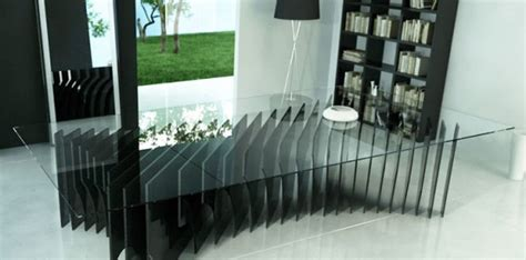 cool ultra modern dining   tables  rlos design