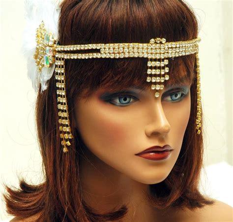 Great Gatsby Headband, 1920s Headpiece, Hair Jewelry Gold ...
