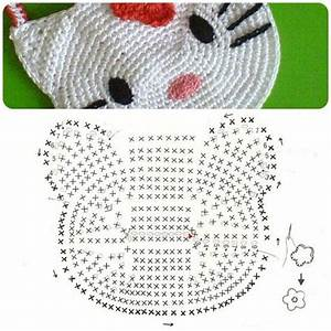 Hello Kitty Crochet Purse Diagram