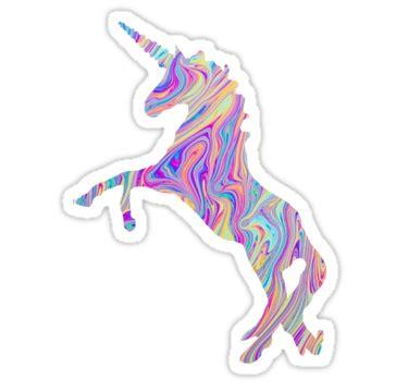 rainbow oil spill unicorn tumblr stickers