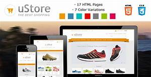 ustore responsive ecommerce html5 template by With online store template html5