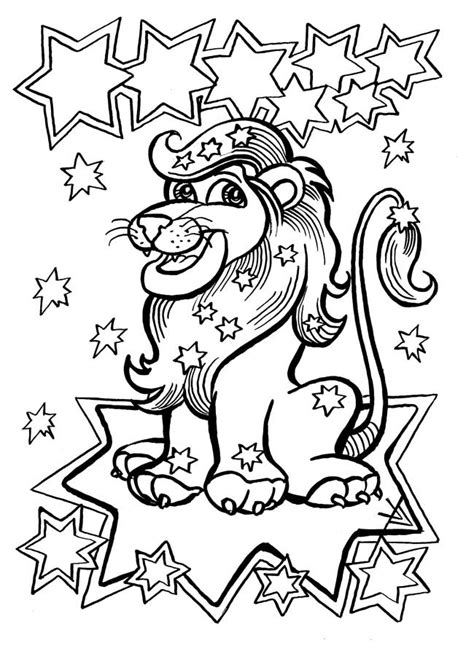 signs   zodiac coloring pages    print