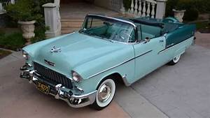 1955 Chevy Bel Air  Convertible  Body Off  Concours